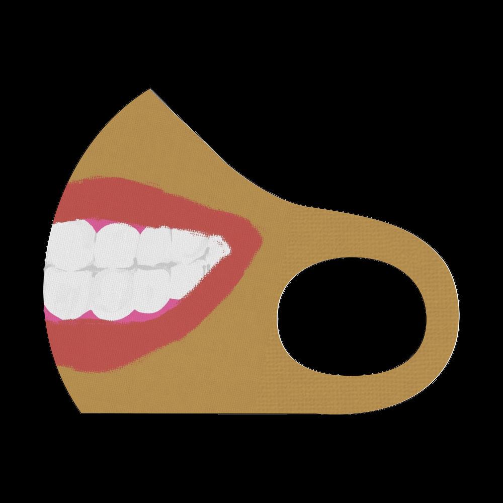 ニカッ 素敵な口元 スポーツマスク