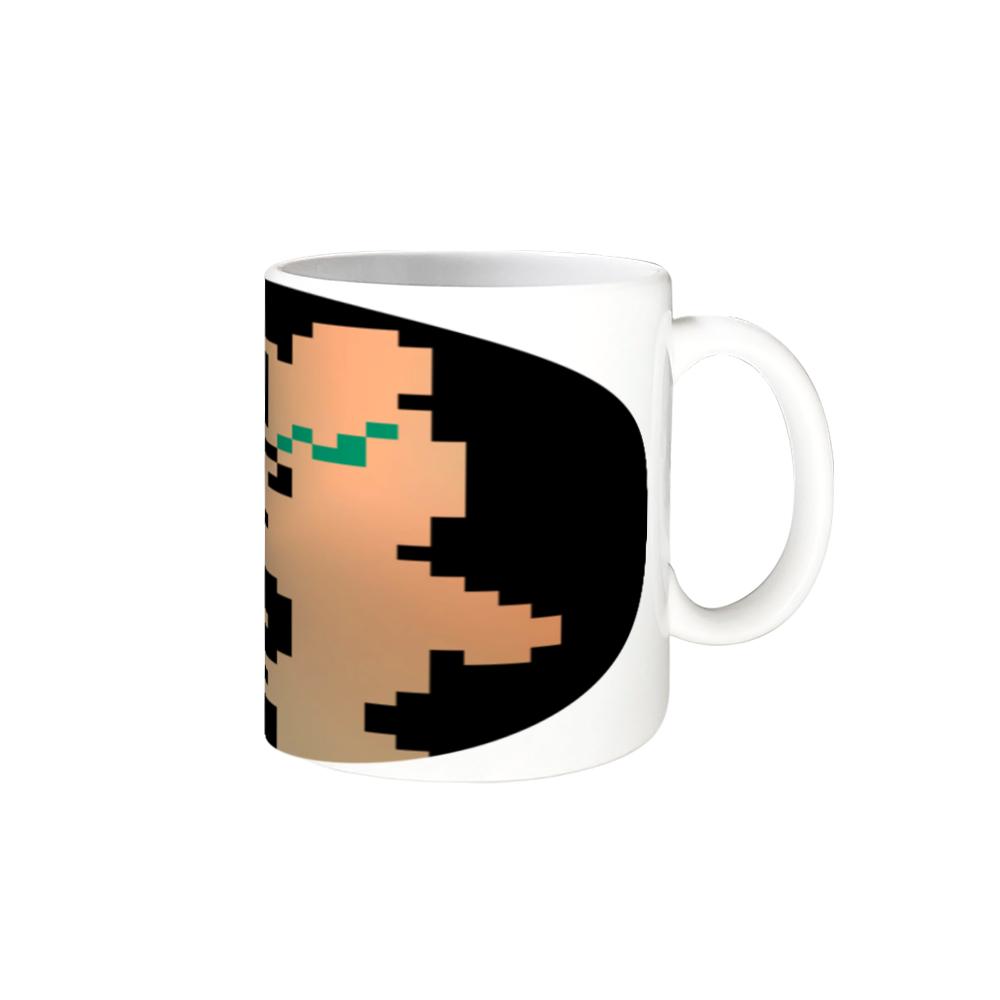 ドットクマ(´(ェ)`) 全面印刷 マグカップ