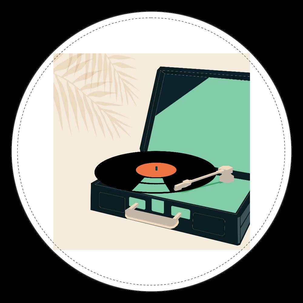 MIDDAY|レコード Coin Purse コインケース