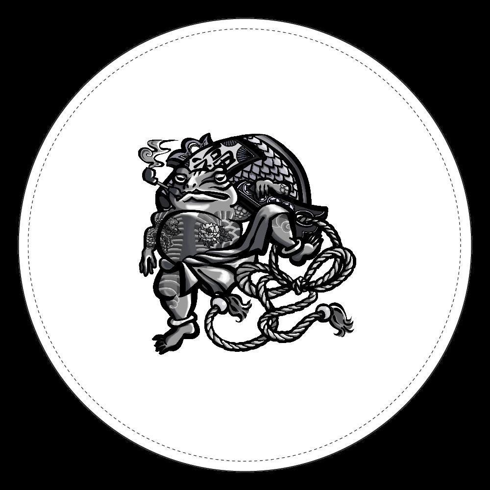 福を呼ぶ蛙と打ち出の小づち コインケース