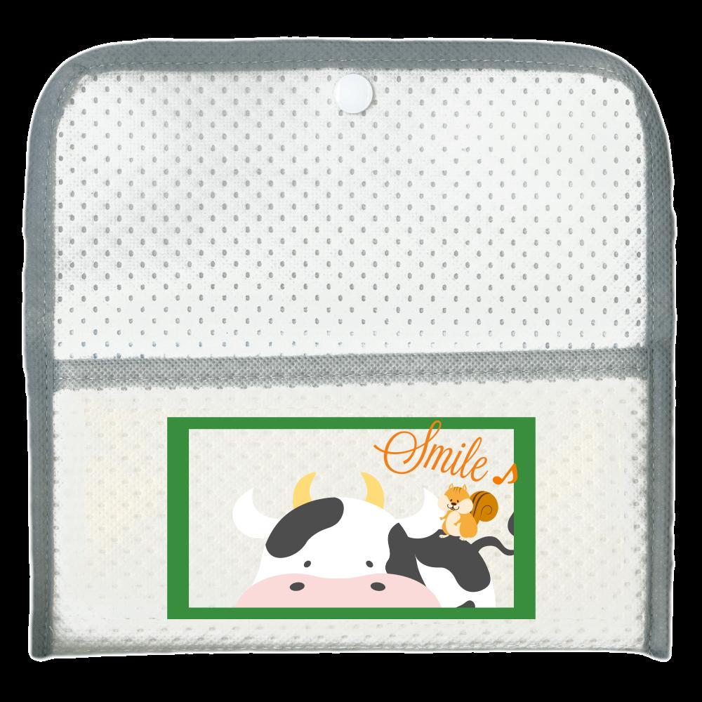 アニマルデザインケース 抗菌マスクケース (マスク5枚付き)