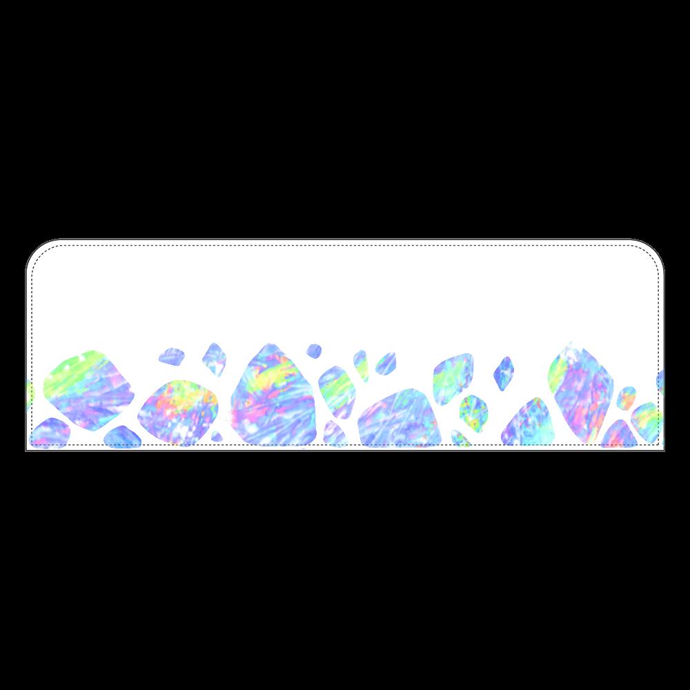 オパール色の氷 ペンケース