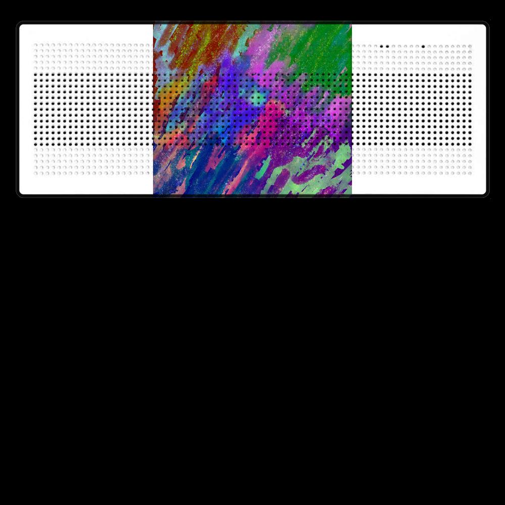 銀河系 ORILAB MARKET.Version.12 Bluetoothスピーカー 表のみプリント