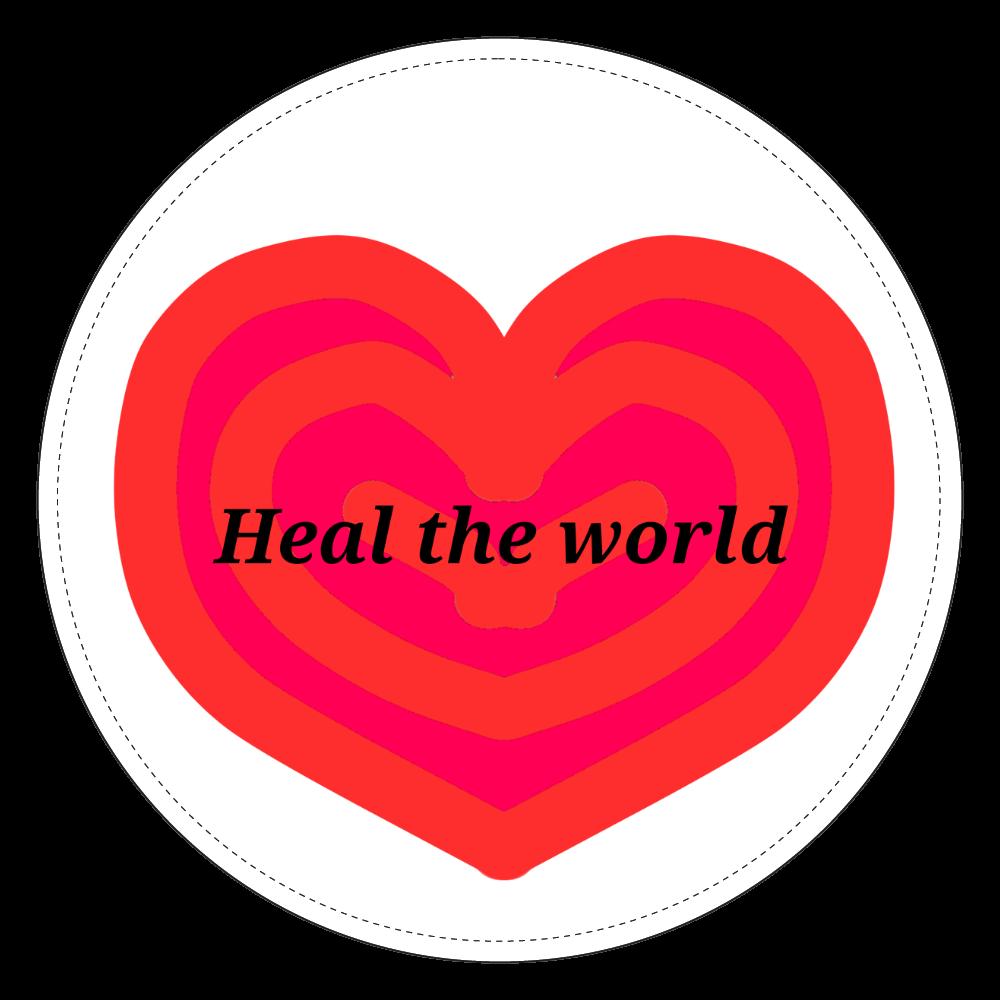 Heal the world~世界を癒そう~ コインケース