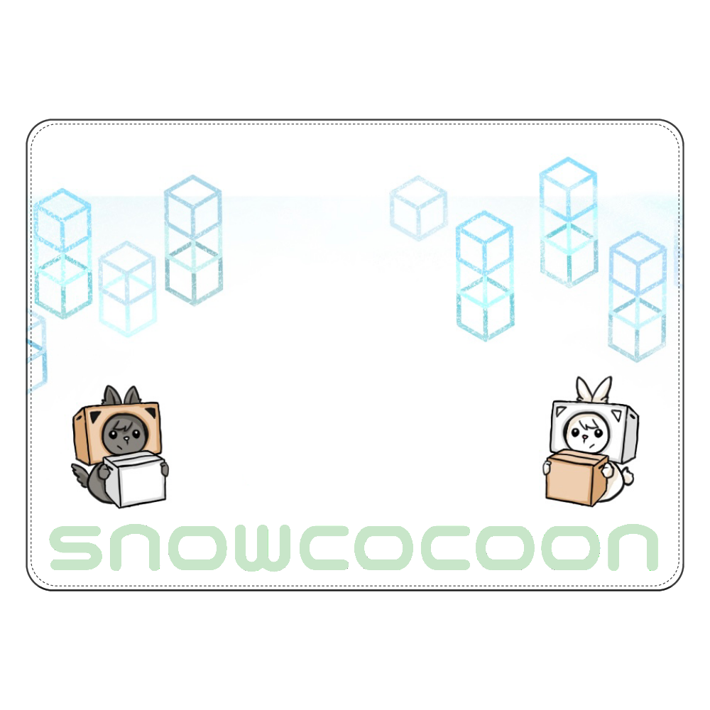 snowcocoonケース タブレットケース汎用Mサイズ