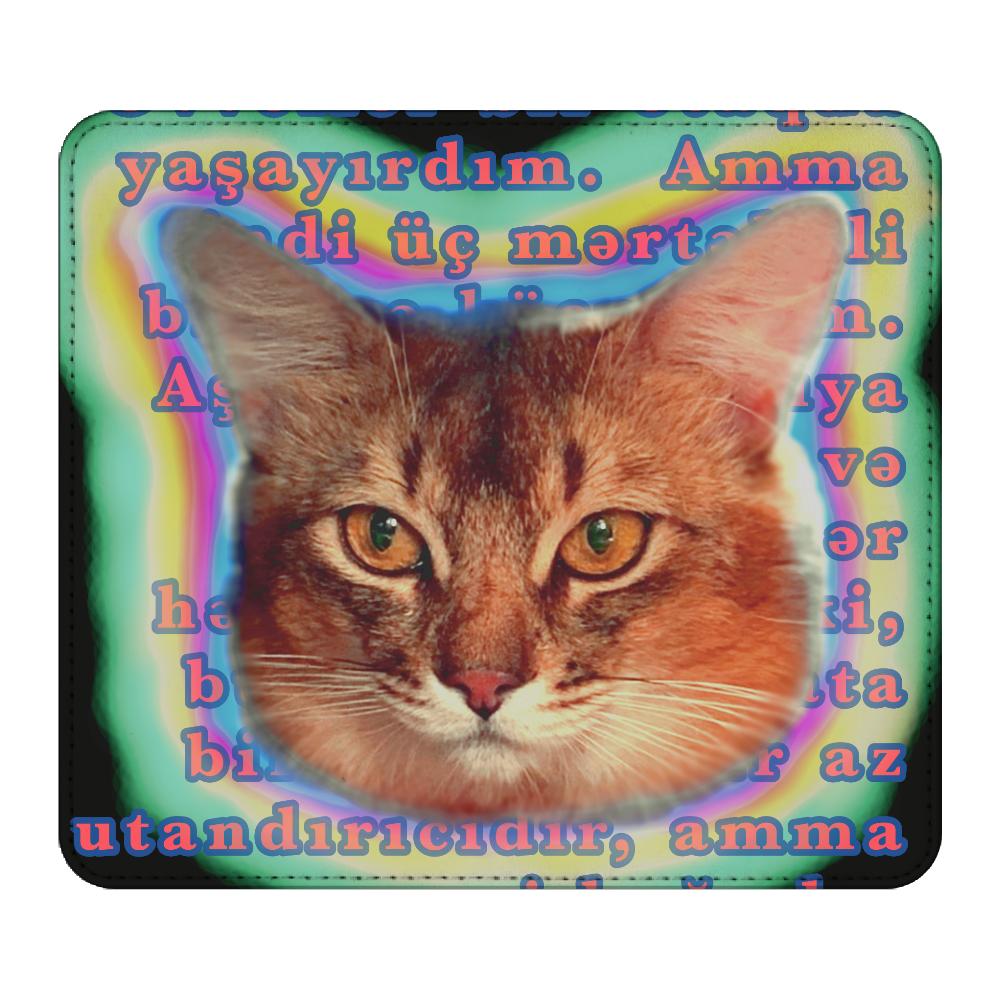 ソマリキャットブルース マウスパッド