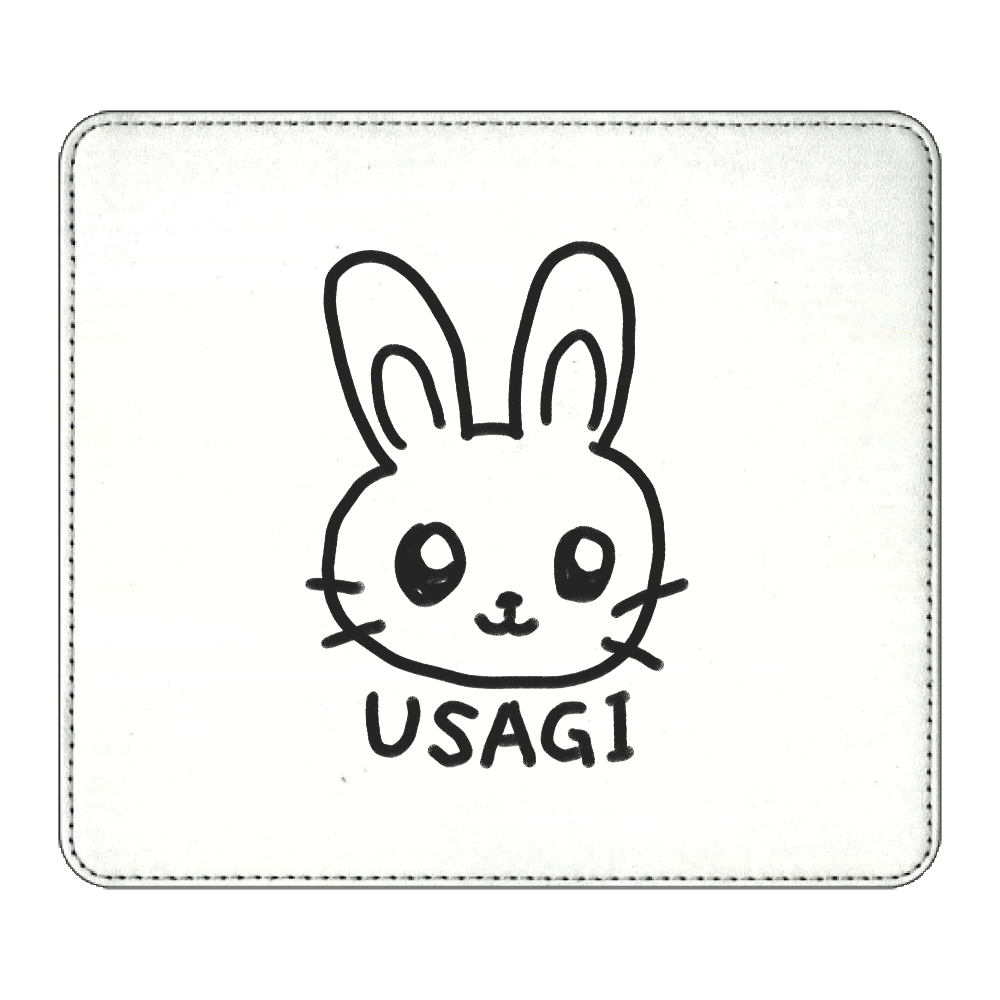 うさぎ USAGI マウスパッド