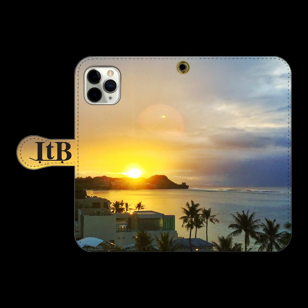 I Phone 手帳型ケース 【GUAM】 iPhone11 Pro 手帳型スマホケース