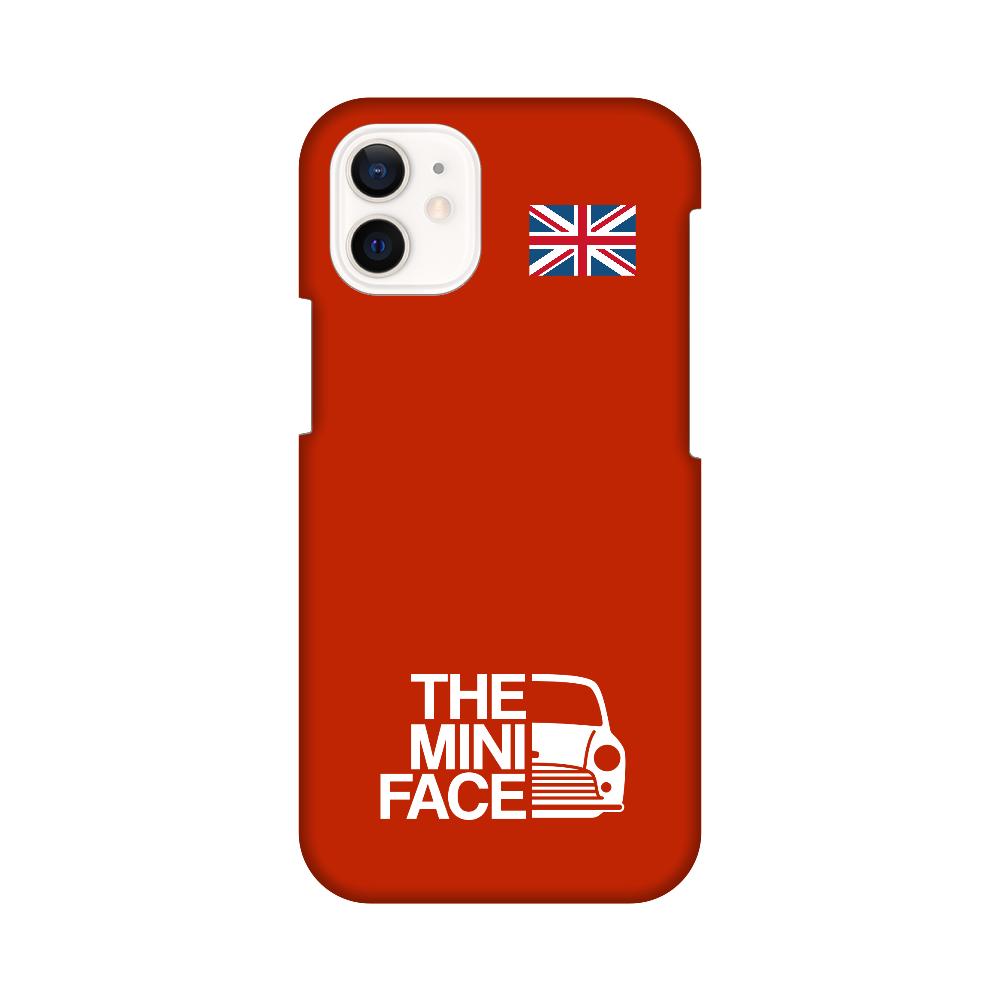 THE MINI FACE(フレームレッド) iPhone12 mini