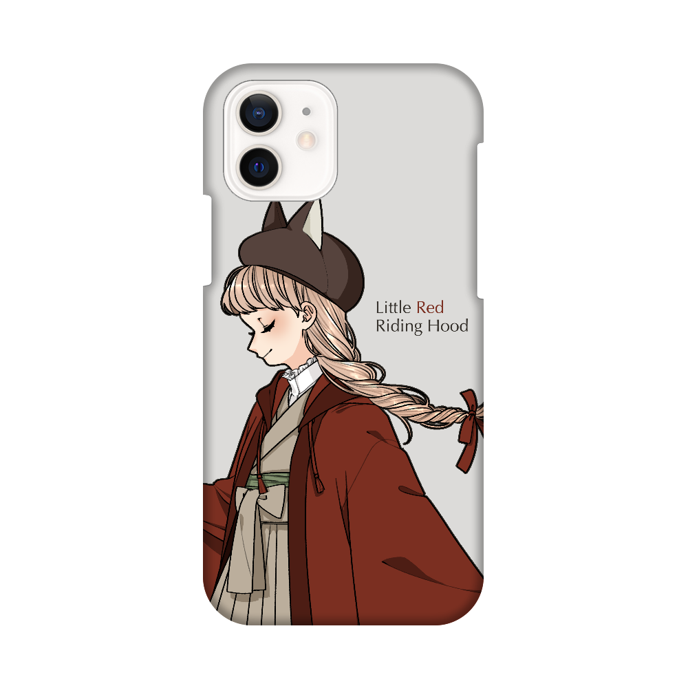 赤ずきん スマホケース iPhone12 / 12 Pro