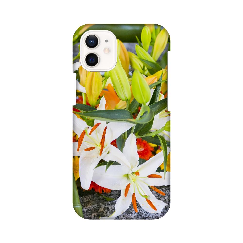 手水舎に浮かぶ花 iPhone12 mini