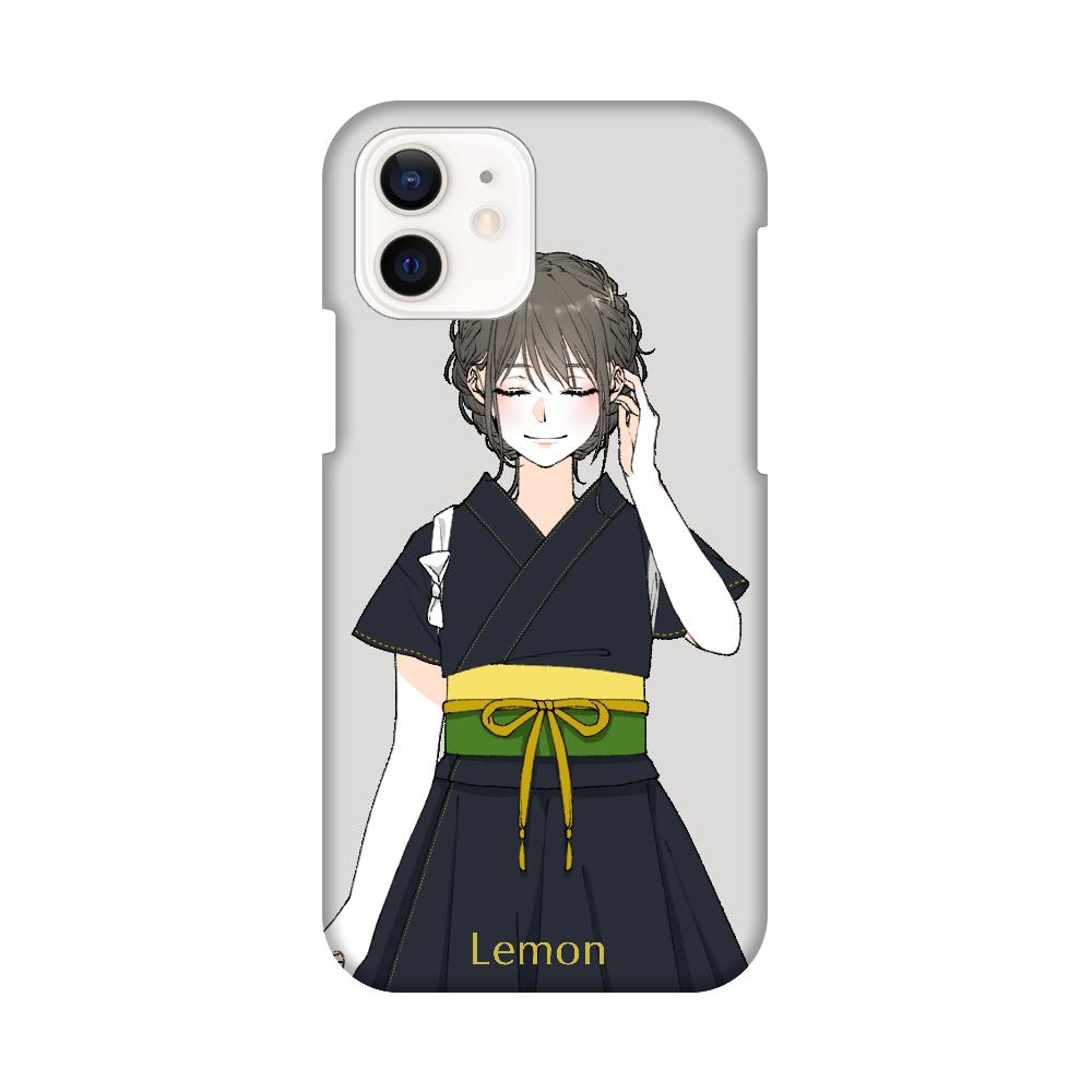 レモン スマホケース iPhone12 / 12 Pro