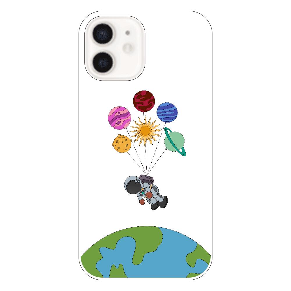 小さな宇宙飛行士 iphone12 クリアケース iPhone12(透明)
