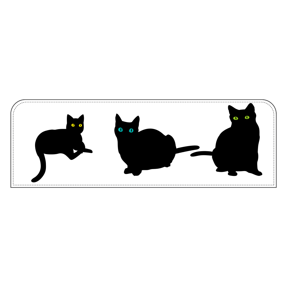 猫と一緒 ペンケース