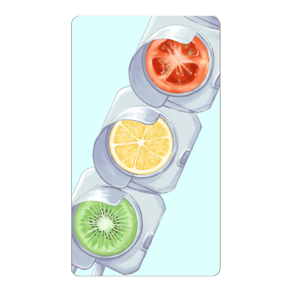 【オリラボマーケット限定】Traffic fruits モバイルバッテリー インジケータ無バッテリー4000mAh
