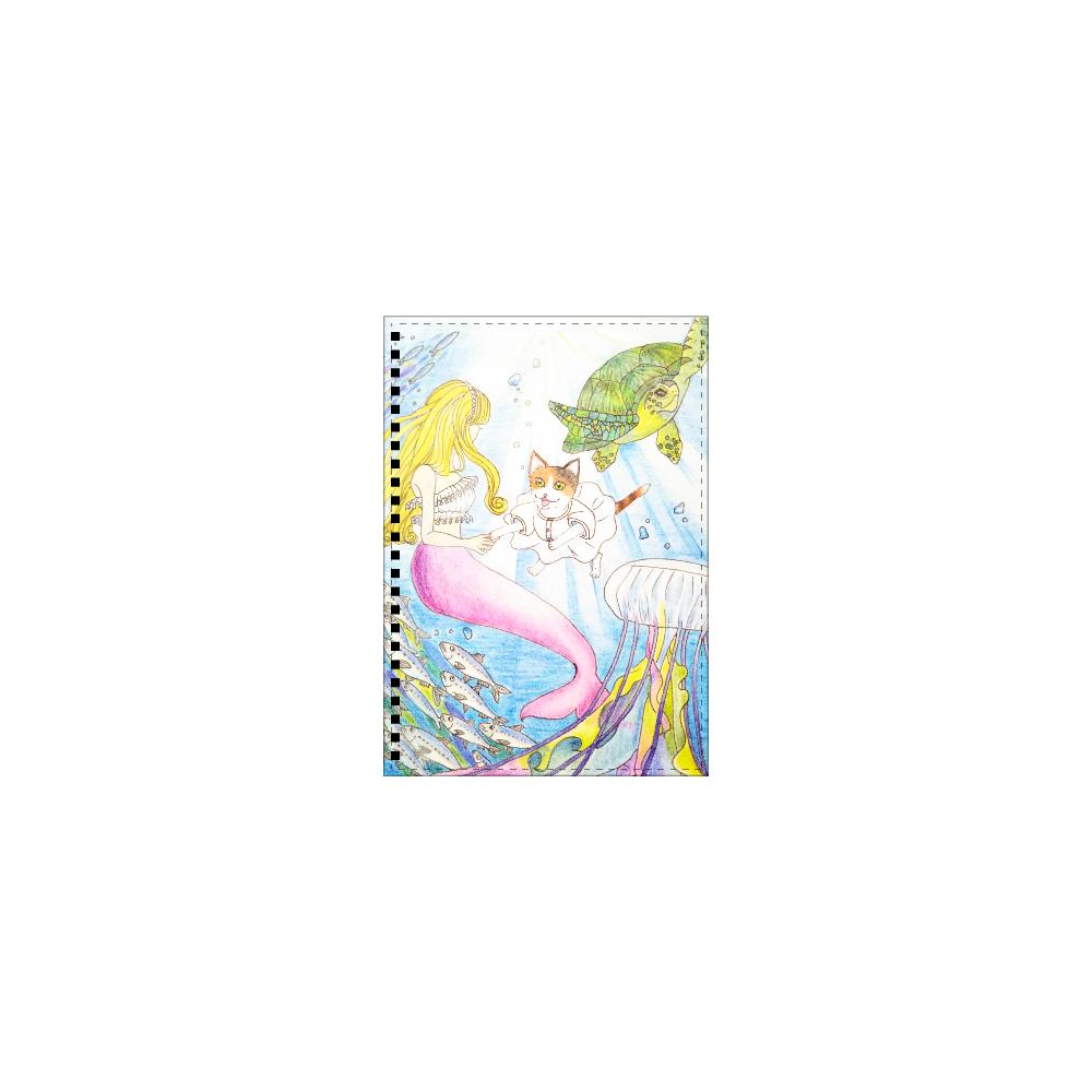 ミミのサマードリーム(メイド猫mimi) A5ノート