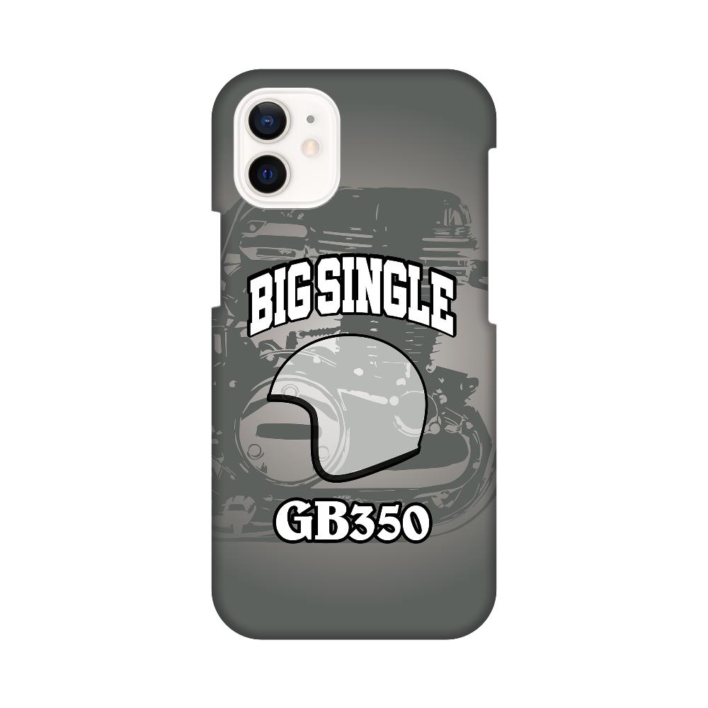 GB350 BIG SINGLE グレー iPhone12 mini