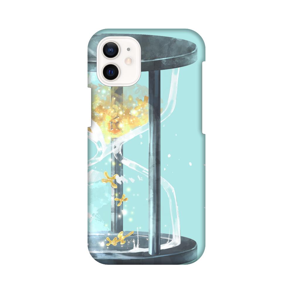 秋、金木犀、砂時計 スマホケース iPhone12 mini