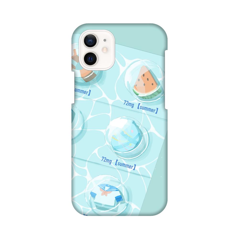 用法、用量を守って夏をお楽しみください。 スマホケース iPhone12 mini