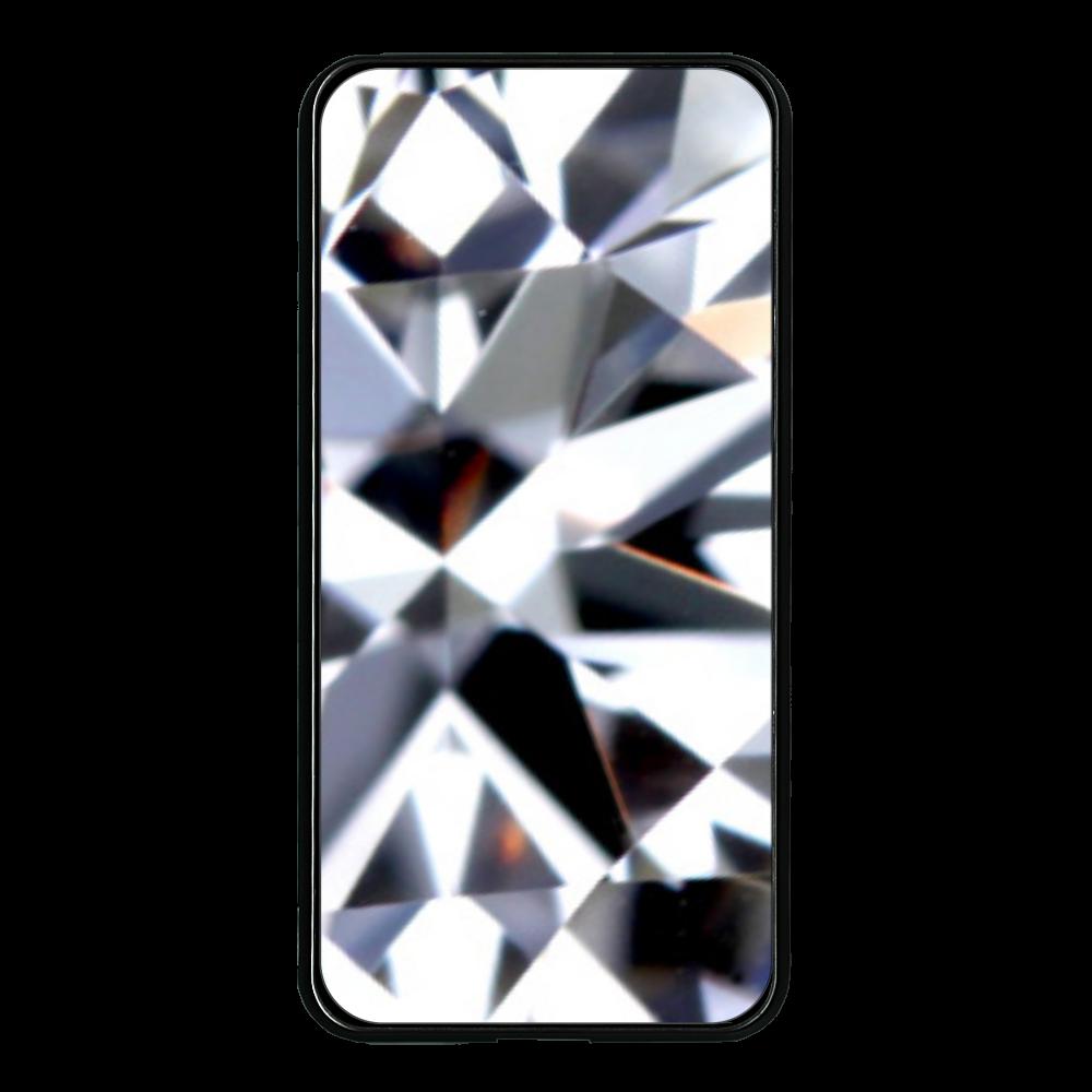 Diamond 大容量モバイルバッテリー 両面ガラス 8000mAH