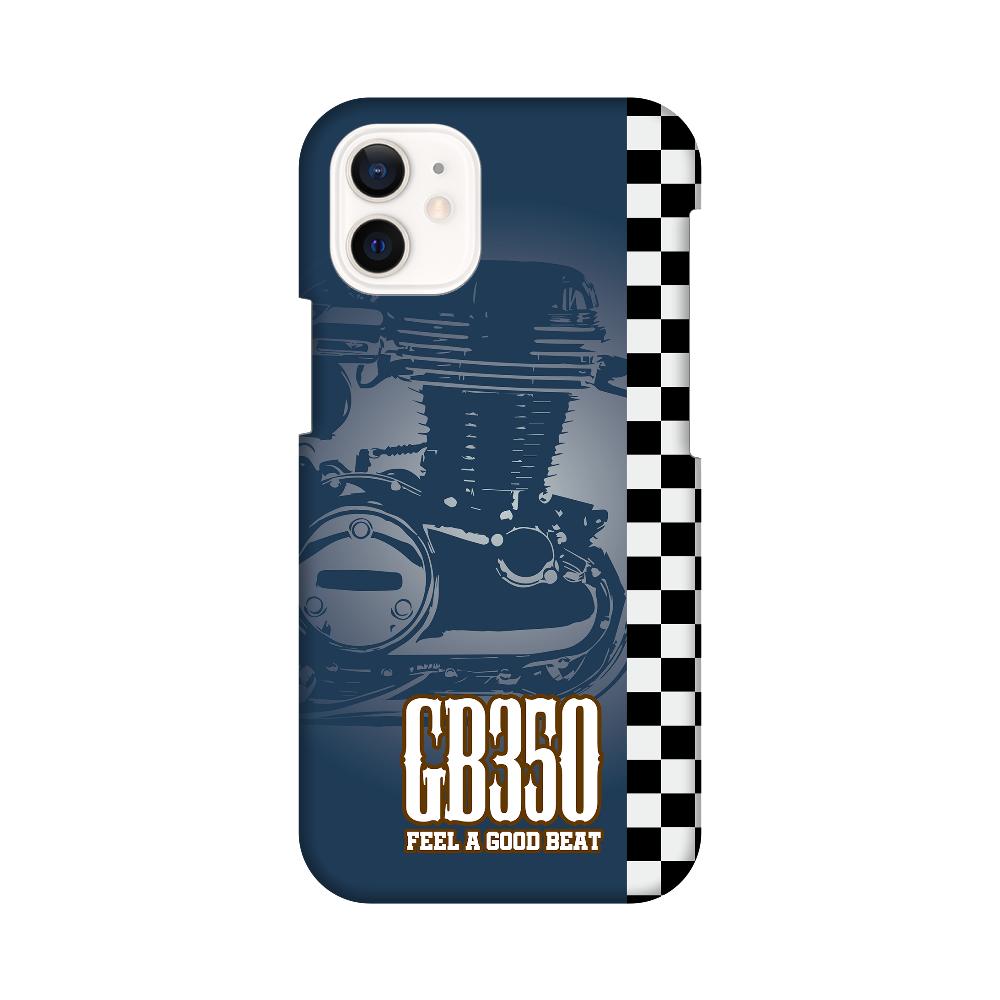 GB350 BIG SINGLE ブルー iPhone12 mini