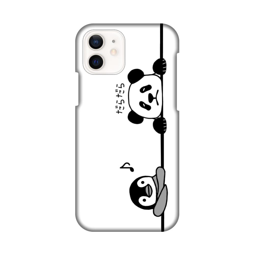 ペンギンとパンダのスマホケース iPhone12 / 12 Pro