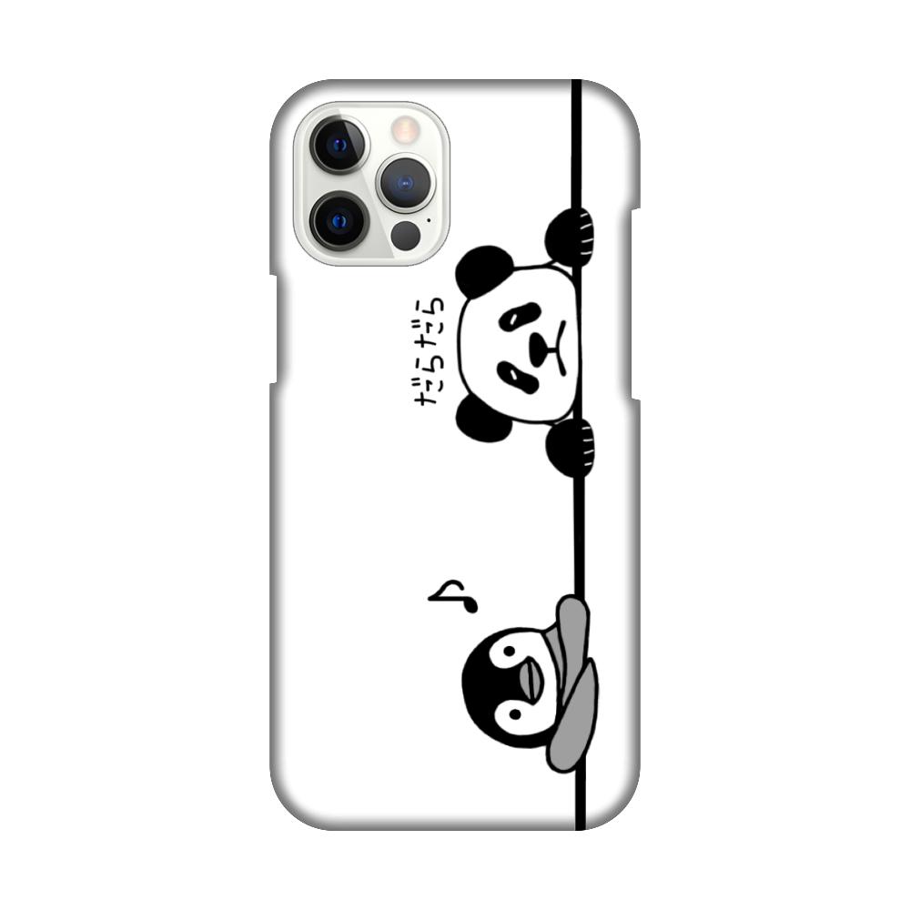 ペンギンとパンダのスマホケース iPhone12 Pro Max