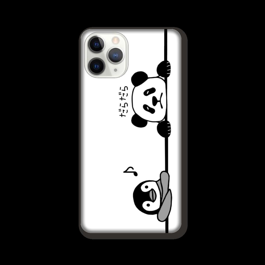 ペンギンとパンダのスマホケース iPhone 11 Pro
