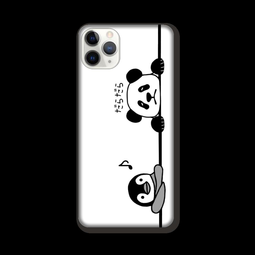 ペンギンとパンダのスマホケース iPhone 11 ProMAX