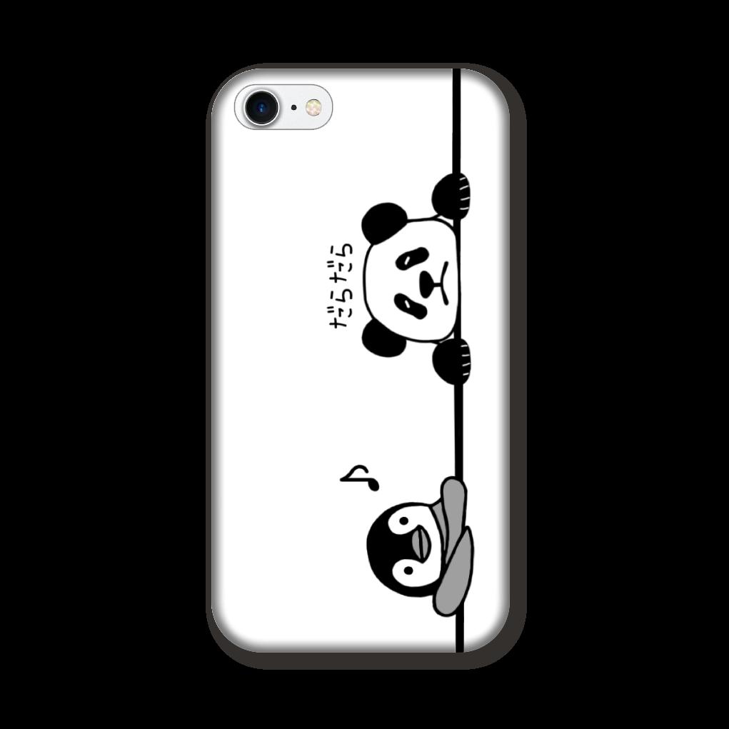 ペンギンとパンダのスマホケース iPhoneSE2