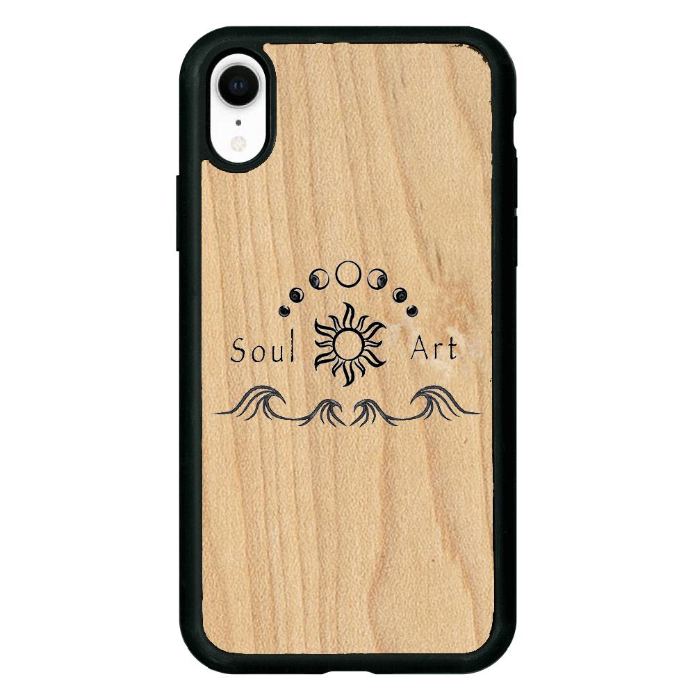 Soul Art iPhoneXR ウッドケース