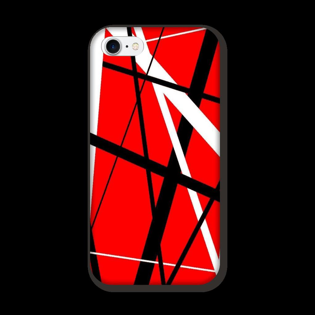 ROCK STRIPE (RED) iPhone8