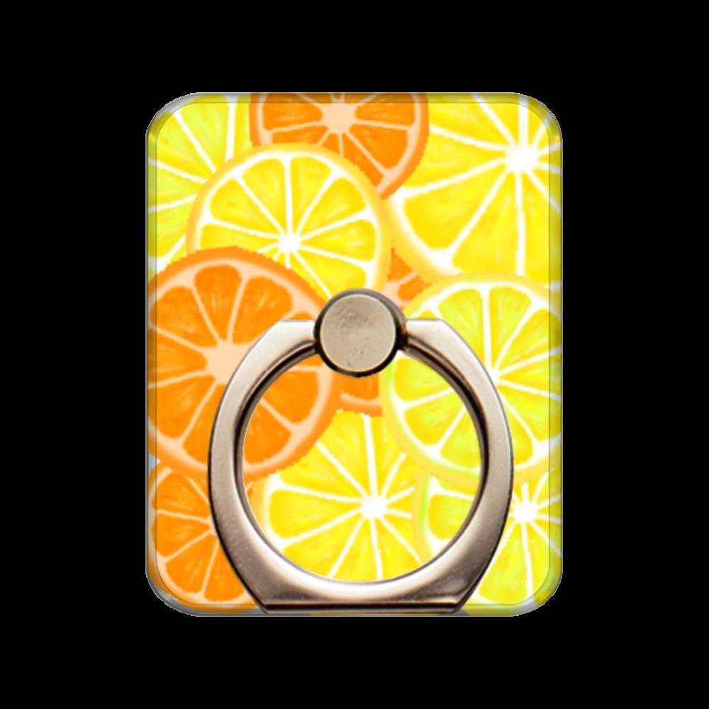 柑橘  スマホリング