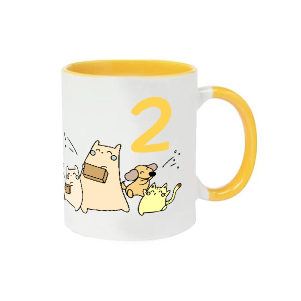 2月誕生日るるたんマグカップ 2トーンマグカップ