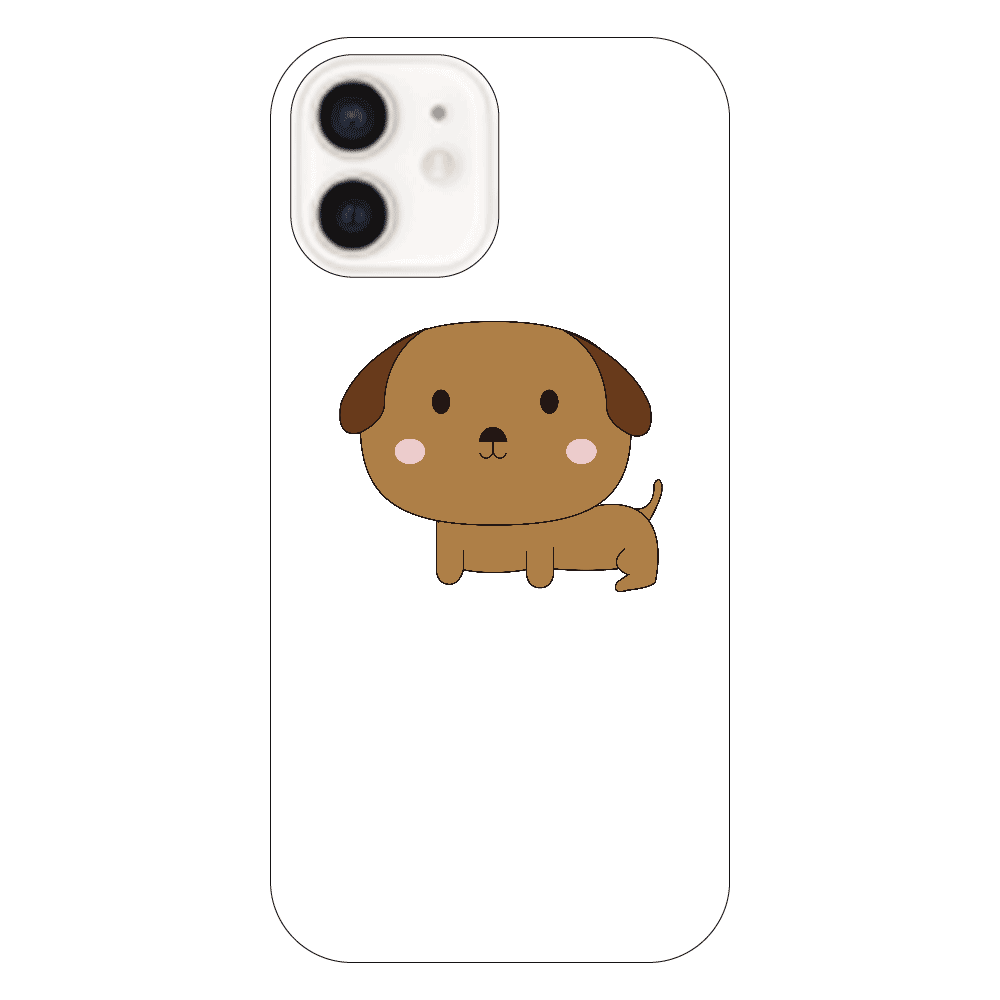 頭でかっち犬 iPhone12