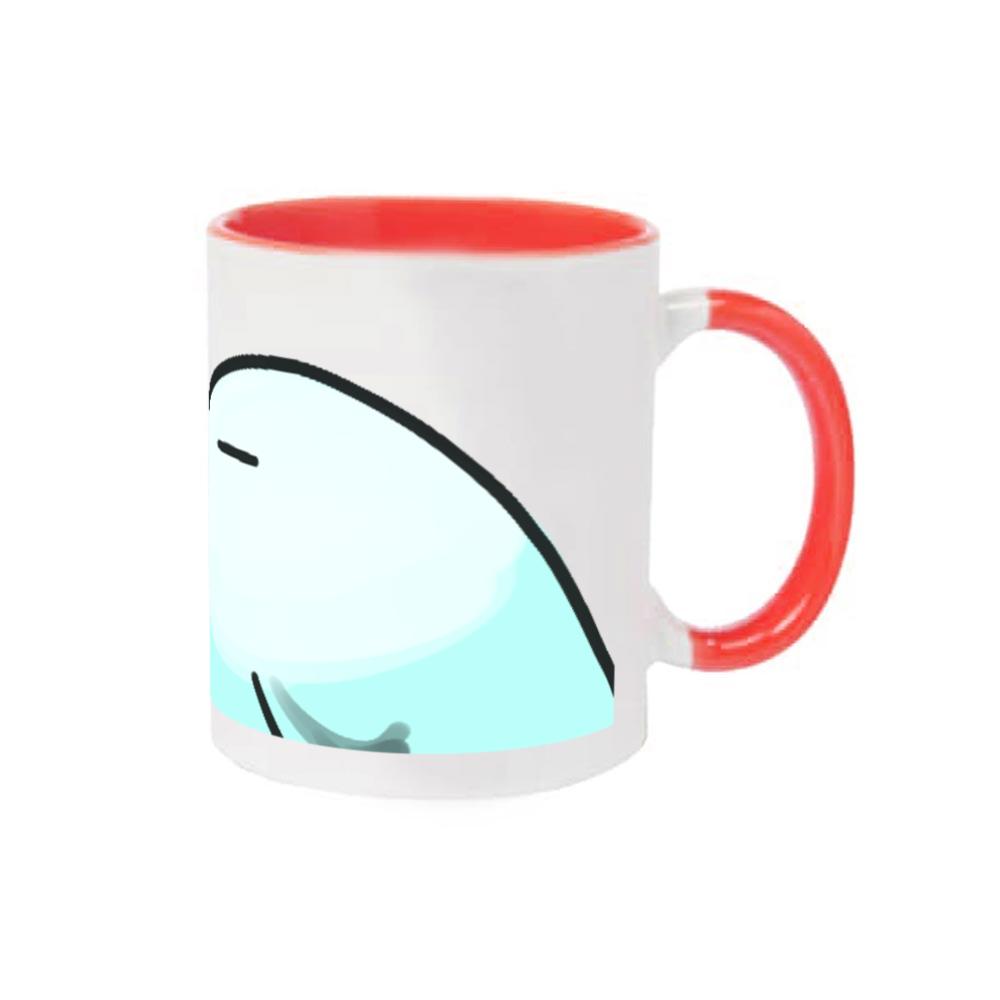 インコ(自称)マグカップ 2トーンマグカップ