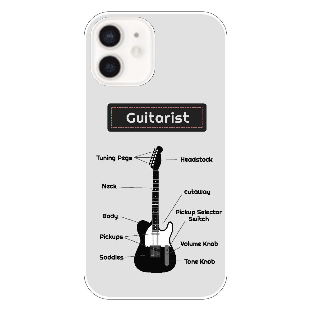 [全5機種] The Parts of a T-style Guitar iPhone12