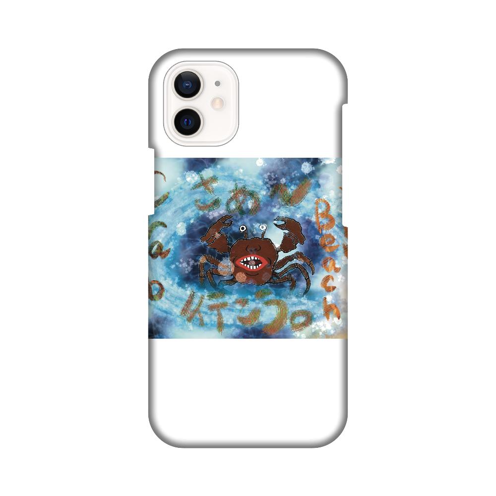 夏のビーチ「カニ」 ORILAB MARKET.Version.5 iPhone12 mini