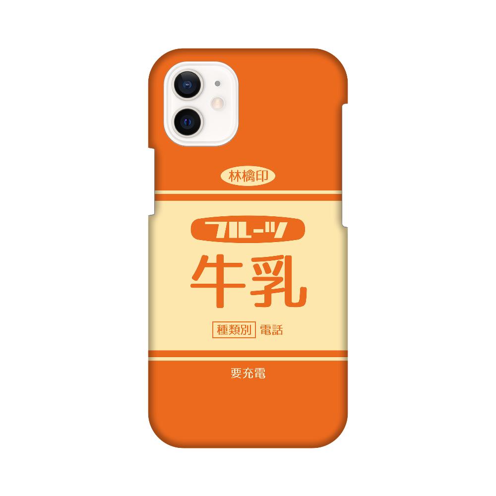 レトロなフルーツ牛乳 iPhone12 mini