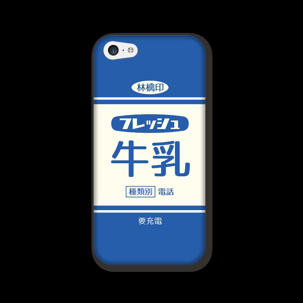 レトロなフレッシュ牛乳 iPhone5c