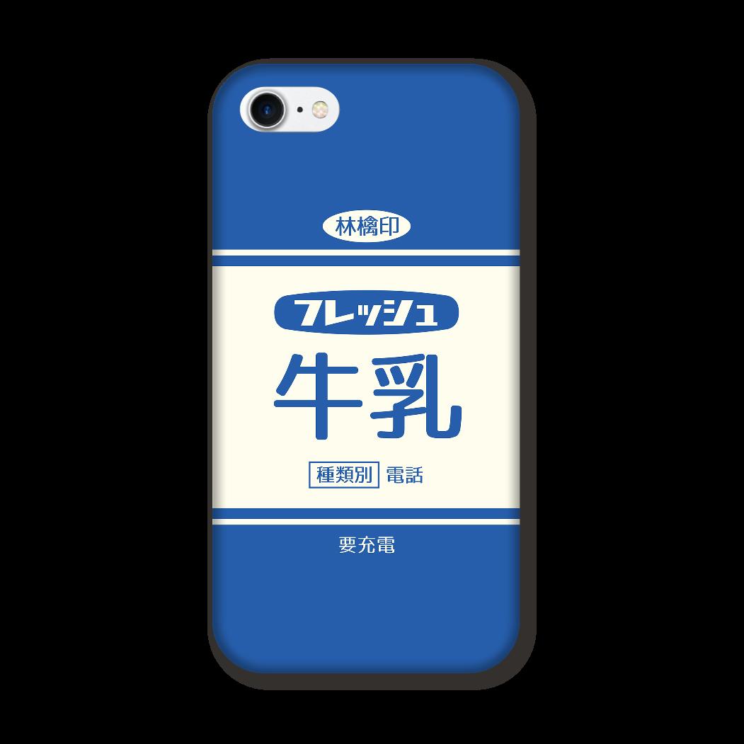 レトロなフレッシュ牛乳 iPhone7