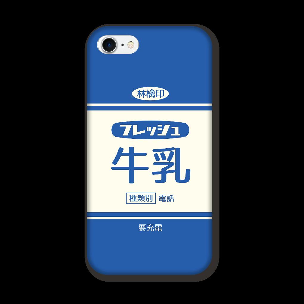 レトロなフレッシュ牛乳 iPhone8