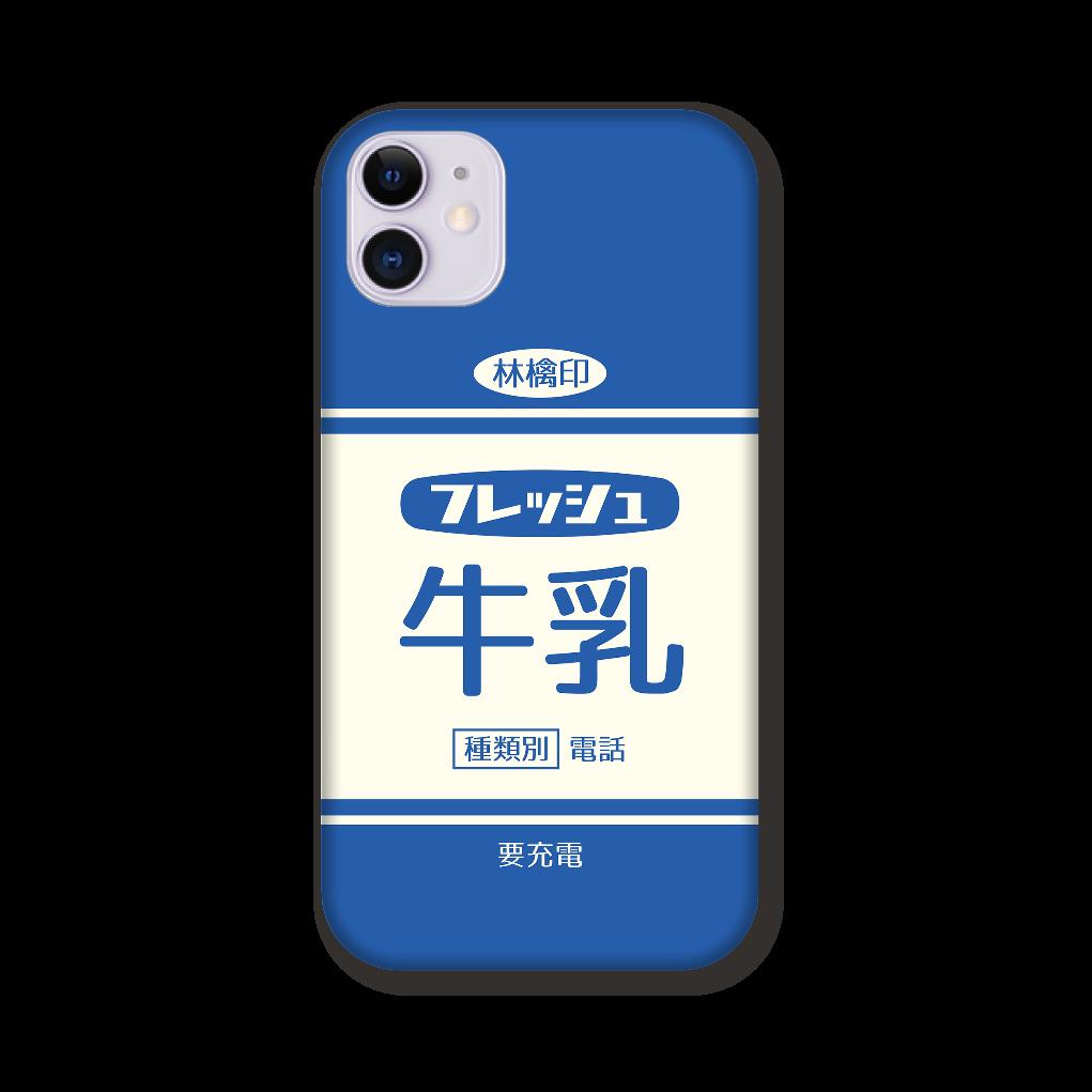 レトロなフレッシュ牛乳 iPhone 11