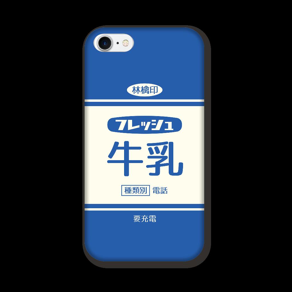 レトロなフレッシュ牛乳 iPhoneSE2