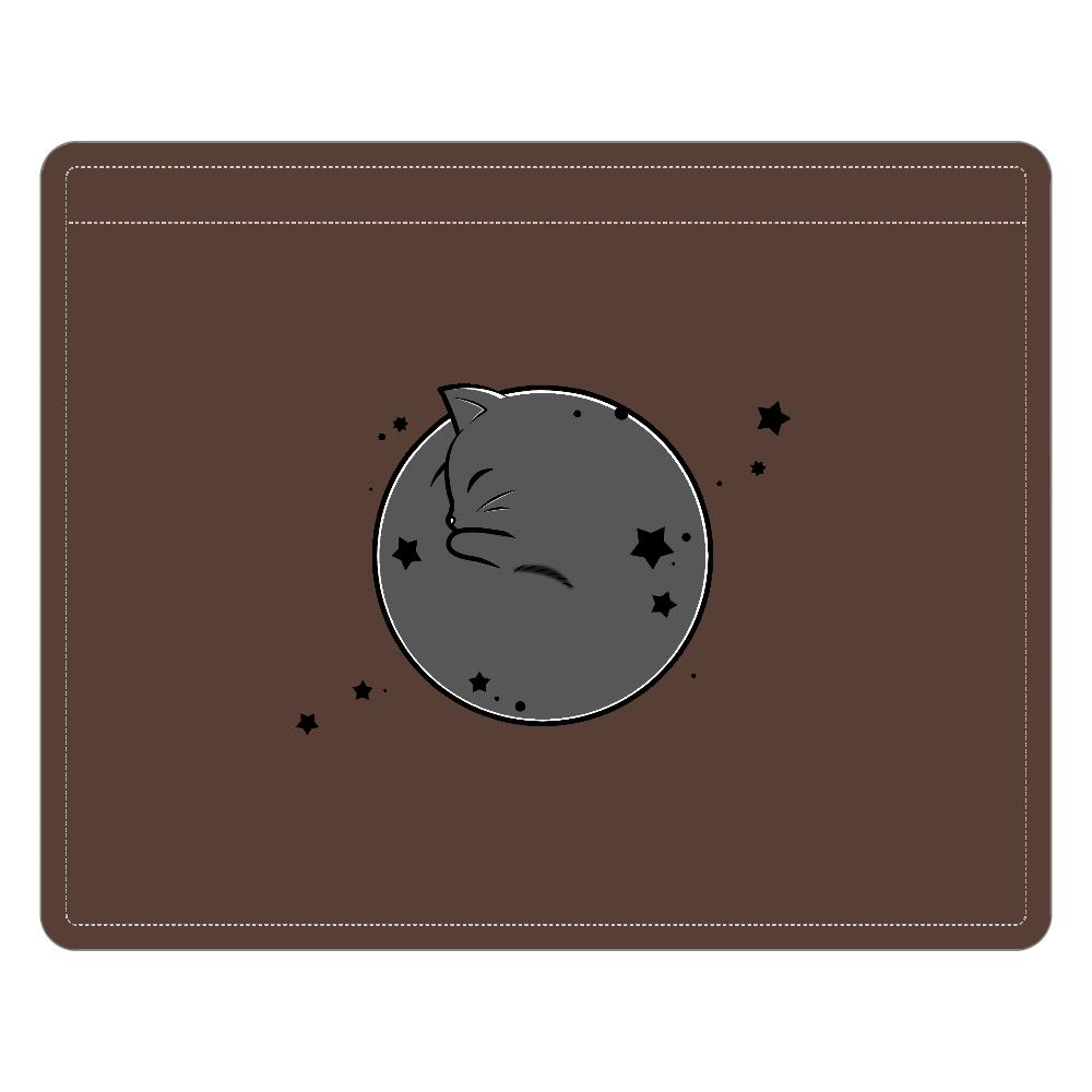 アンモナ(ニャ)イト・黒 レザーIDカードホルダー(ネックストラップ付) レザーIDカードホルダー(ネックストラップ付)