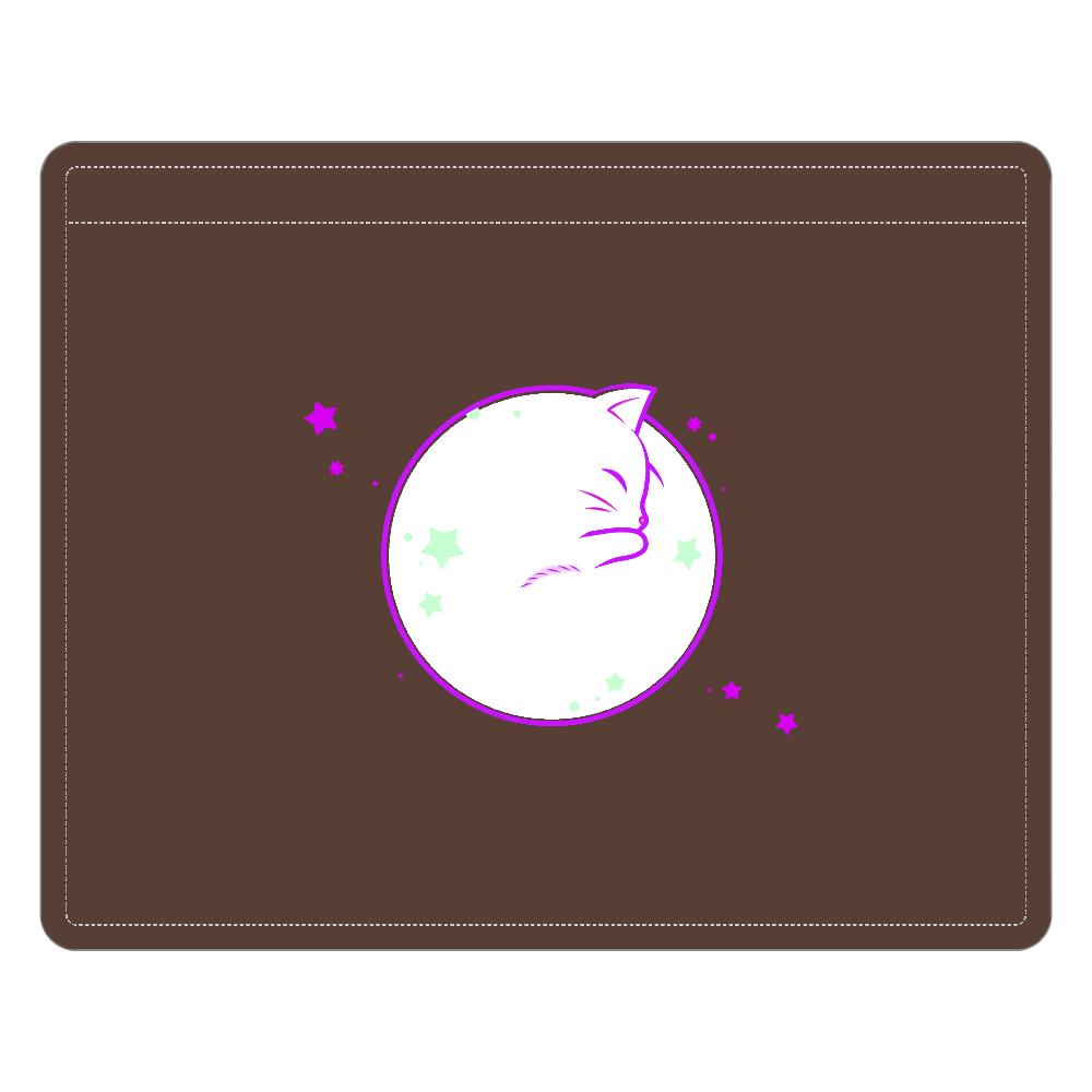 アンモナ(ニャ)イト・白 レザーIDカードホルダー(ネックストラップ付) レザーIDカードホルダー(ネックストラップ付)
