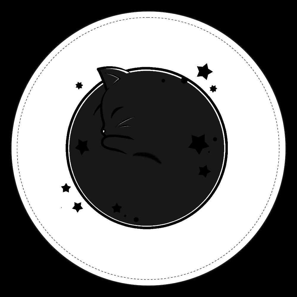 アンモナ(ニャ)イト・黒 コインケース コインケース