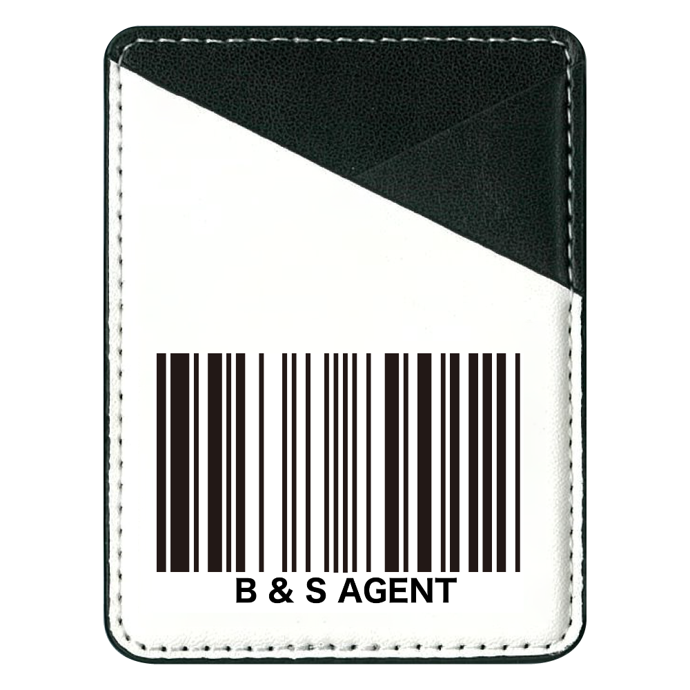 B&S AGENT パスケース 貼り付けパスケース(スマホ用)