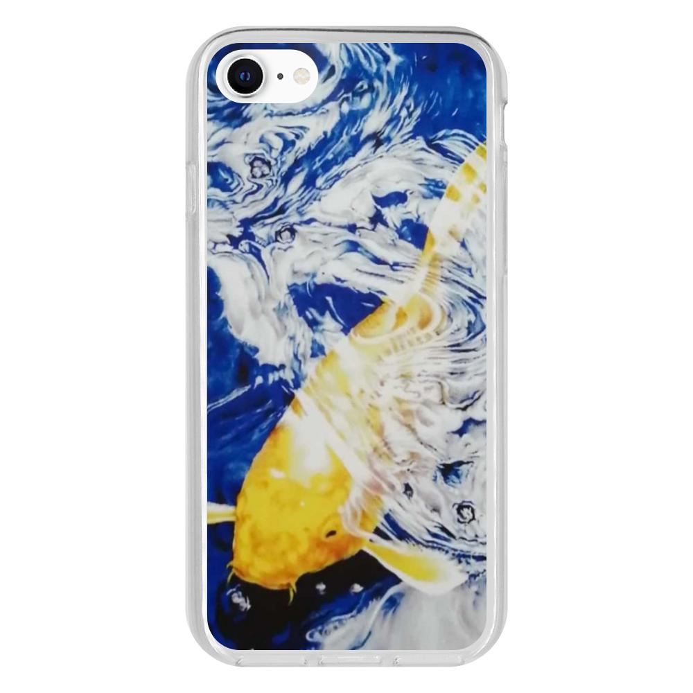黄金の鯉 iPhone 7 抗菌ソフトケース