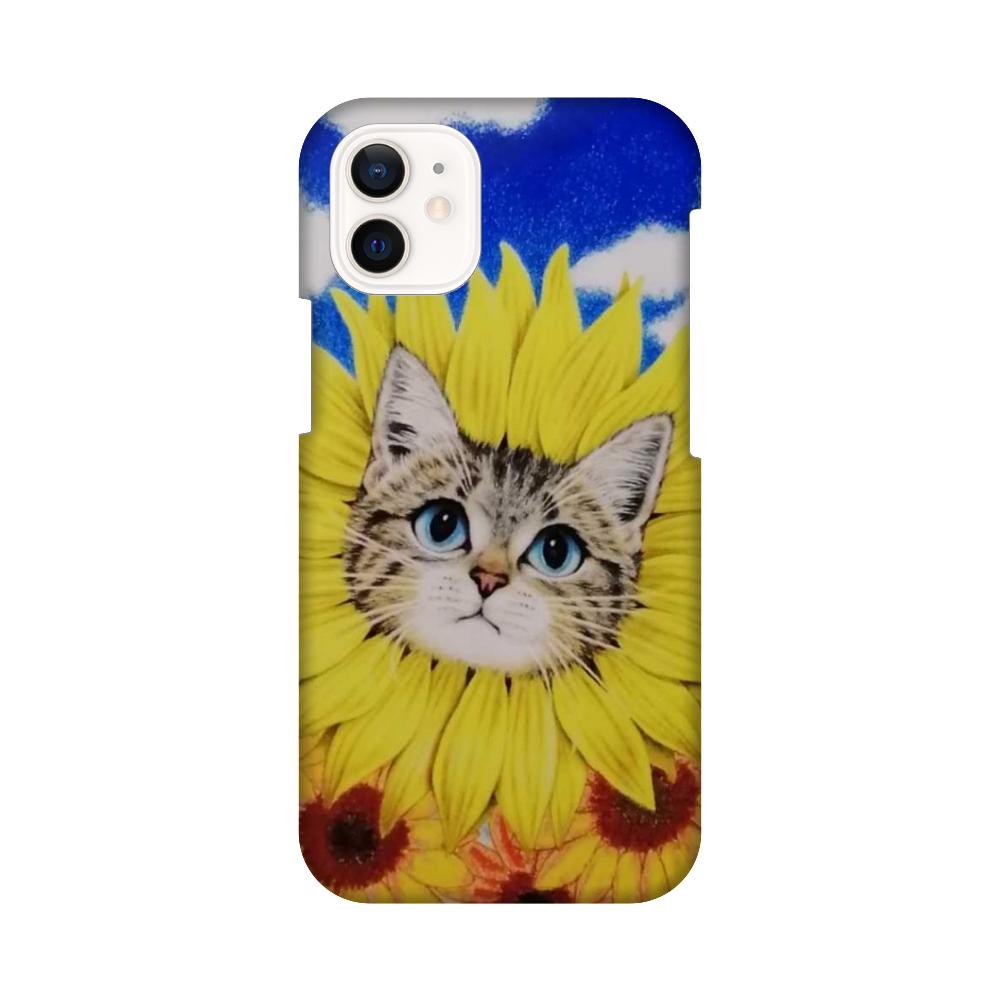 ひまわり猫 iPhone12 mini